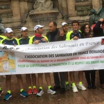 Marathon-relais entre la France et la Belgique pour la liberté des prisonniers politiques sahraouis et pour l'indépendance du Sahara occidental – Association des Amis de la R.A.S.D.