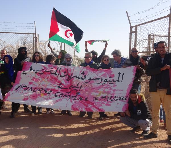 ARTifariti: la MINURSO es cómplice de Marruecos | Contramutis