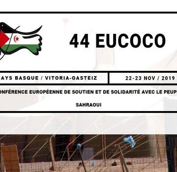 Eucoco 2019 : mettre fin à l'occupation, ouvrir une nouvelle page d'histoire | Sahara Press Service