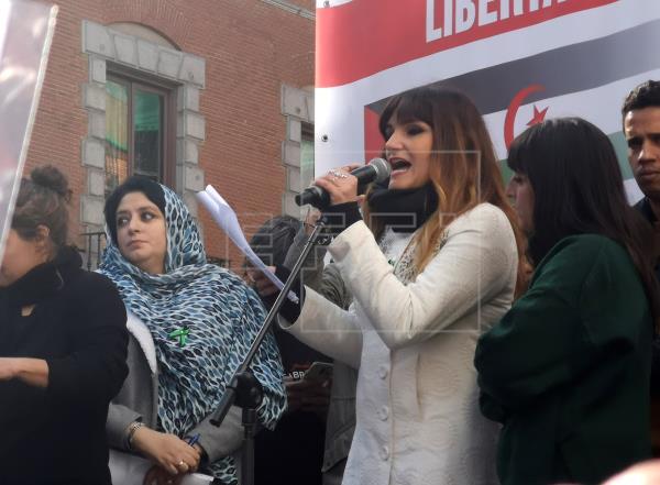 Cientos de personas se manifiestan en Madrid por un Sáhara libre | Portada | Agencia EFE