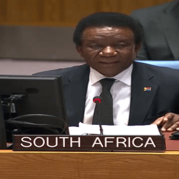 """South Africa considers Security Council's resolution 2494 """"unbalanced"""" and terminology used incorrect 