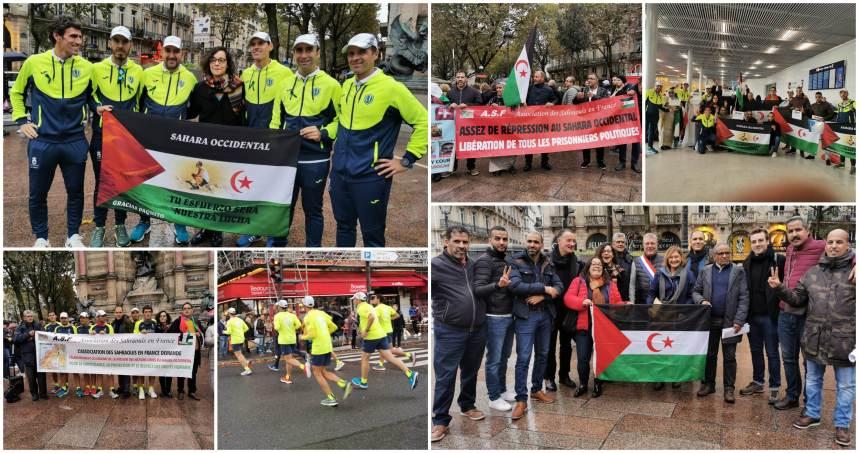 Arranca la Maratón París – Bruselas por la Libertad de los Presos Políticos Saharauis | PUSL