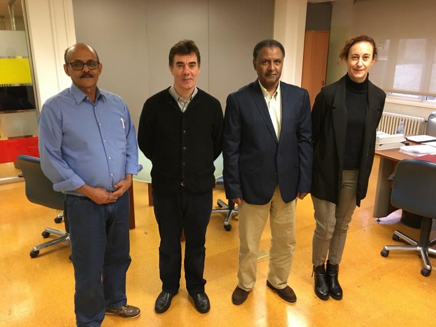 Reunión entre la delegación saharaui y el consejero de Política Migratoria y Justicia del Gobierno de Navarra   Sahara Press Service
