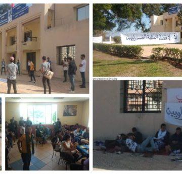 Empeora el estado de salud de los estudiantes saharauis en protesta en Rabat — PUSL