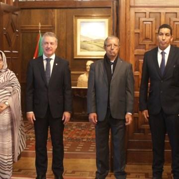 Presidente del Gobierno Vasco, Iñigo Urkullu, recibe al Primer Ministro y reitera el compromiso vasco con la causa saharaui   Sahara Press Service