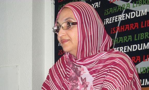 La activista saharaui Aminatou Haidar se encuentra entre los nominados al Premio Nobel de la Paz por su campaña pacífica hacia un Sahara Occidental independiente