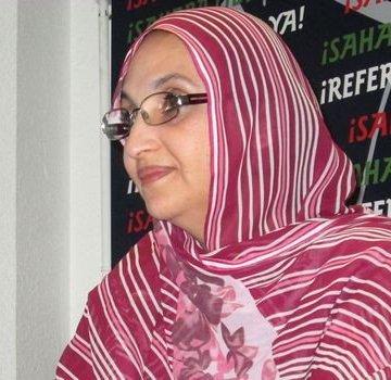La ocupación marroquí le acaba de denegar la salida de El Aaiún ocupado hacia las Palmas de Gran Canaria a la activista saharaui @AminatouHaidar