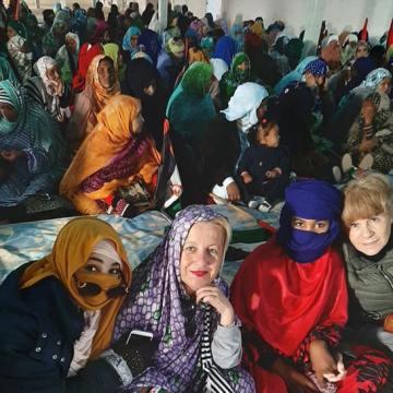 Nota de prensa: Recibimiento a las cooperantes que regresan de los campamentos de refugiados saharauis – Um Draiga