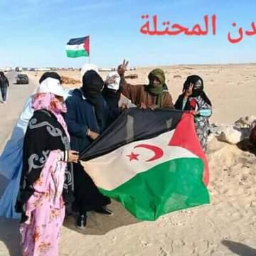 Izada la bandera saharaui en El Guerguerat – La ONU establece un control en la zona – Manifestantes saharauis quieren protestar ante el paso del rally Eco Race