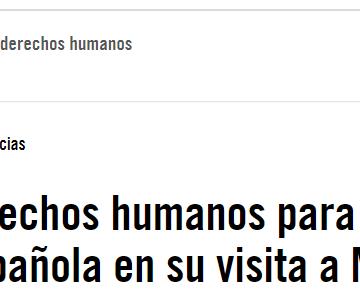 Agenda de derechos humanos para la Ministra de Asuntos Exteriores española en su visita a Marruecos | Libertad de expresión, derechos de las mujeres y LGBTI, y derechos de las personas refugiadas y migrantes, principales preocupaciones de Amnistía Internacional España sobre Marruecos