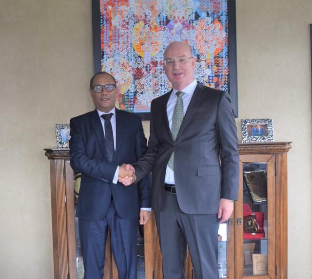 El Representante de la RASD ante la Unión Africana es recibido por el comisionado para la Paz y la Seguridad de la Unión   Sahara Press Service