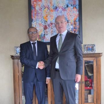 El Representante de la RASD ante la Unión Africana es recibido por el comisionado para la Paz y la Seguridad de la Unión | Sahara Press Service