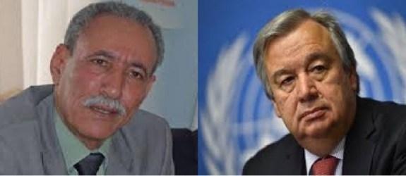 El Presidente de la república pide al Secretario General de la ONU el cierre de la brecha ilegal en la zona de El Guergarat por ser una amenaza para la paz en la región   Sahara Press Service