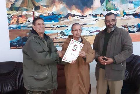 Akeik toma posesión de la cartera de Zonas Ocupadas y Diáspora resaltando el rol de los militantes saharauis en todos los frentes   Sahara Press Service