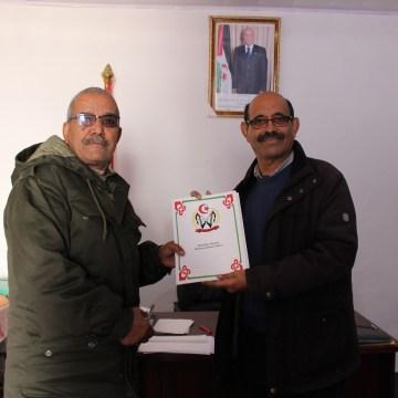 Salek Baba Hasena toma posesión y recibe la cartera de Trasporte y Energía | Sahara Press Service
