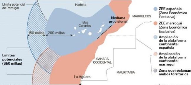 CRÓNICA ECS   Marruecos aprueba ley para ampliar frontera marítima y anexionarse aguas canarias y saharauis