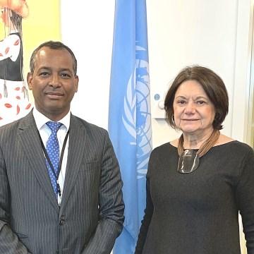 El Delegado del POLISARIO ante la ONU celebra encuentro con la Secretaria General Adjunta de Asuntos Políticos y de Consolidación de la Paz | Sahara Press Service