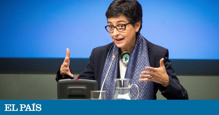 Argelia cancela por segunda vez el viaje de la ministra de Exteriores española en el último momento   España   EL PAÍS