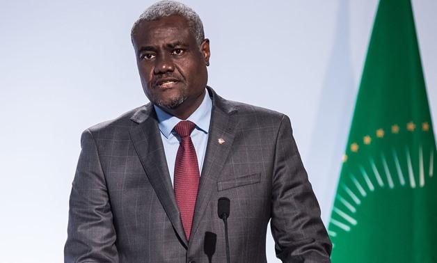 Faki reiterates AU's responsibility to resolve conflict in Western Sahara | Sahara Press Service