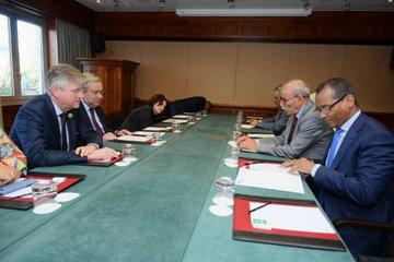 El Presidente Saharaui 🇪🇭 Brahim Gali se reúne con el Secretario General de la ONU 🇺🇳    Tv #Saharaui 🇪🇭 En Español