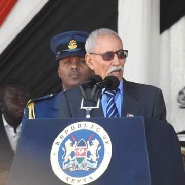 Presidente de la República participa en el funeral de Estado del ex presidente de Kenia, Daniel Arap Moi | Sahara Press Service
