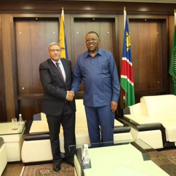 Namibian President reaffirms support for Sahrawi people's right self-determination and independence | Sahara Press Service