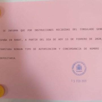 Cierre de los trámites consulares en la Casa de España: los 12.000 saharauis con nacionalidad española tendrán que desplazarse más de mil kilómetros a Rabat