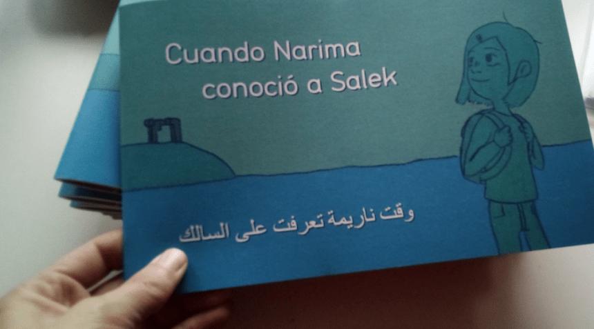 Cuando Narima conoció la Salek cuento solidario con el Sahara Occidental