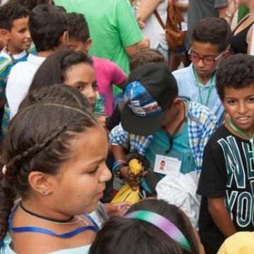 Vacaciones en Paz 2020: La asociación Yaalah de Ondarroa proyecta habilitar la nueva residencia de verano en las escuelas públicas de Zaldupe