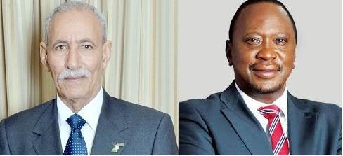 El Jefe del Estado saharaui recibe un mensaje de felicitación de su homólogo de Kenia con motivo del 44 Aniversario de la RASD | Sahara Press Service