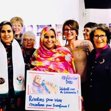 World March of Women reaffirms its support to Saharawi women in their annual solidarity day | Sahara Press Service