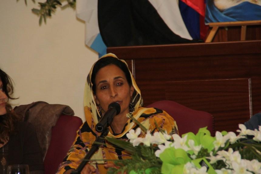 La representante saharaui en Roma elogia la participación del Movimiento Solidario italiano a pesar de la epidemia de Covid-19