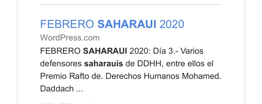 Febrero saharaui 2020 – contramutis