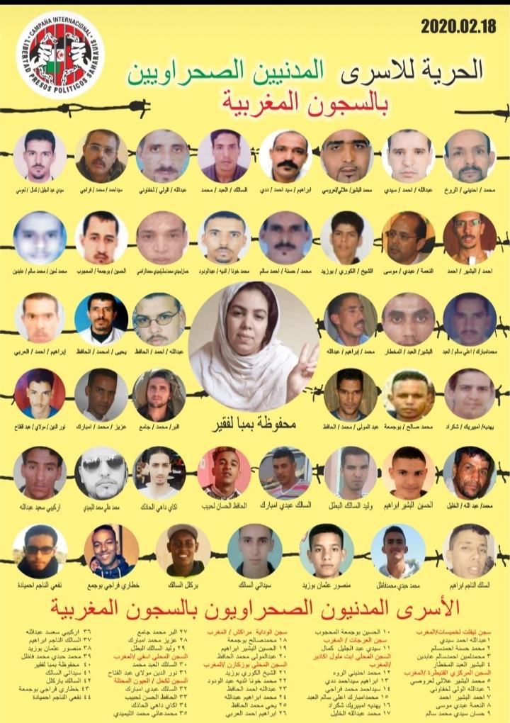 El presidente de la República responsabiliza al estado marroquí por la vida de los prisioneros civiles saharauis   Sahara Press Service