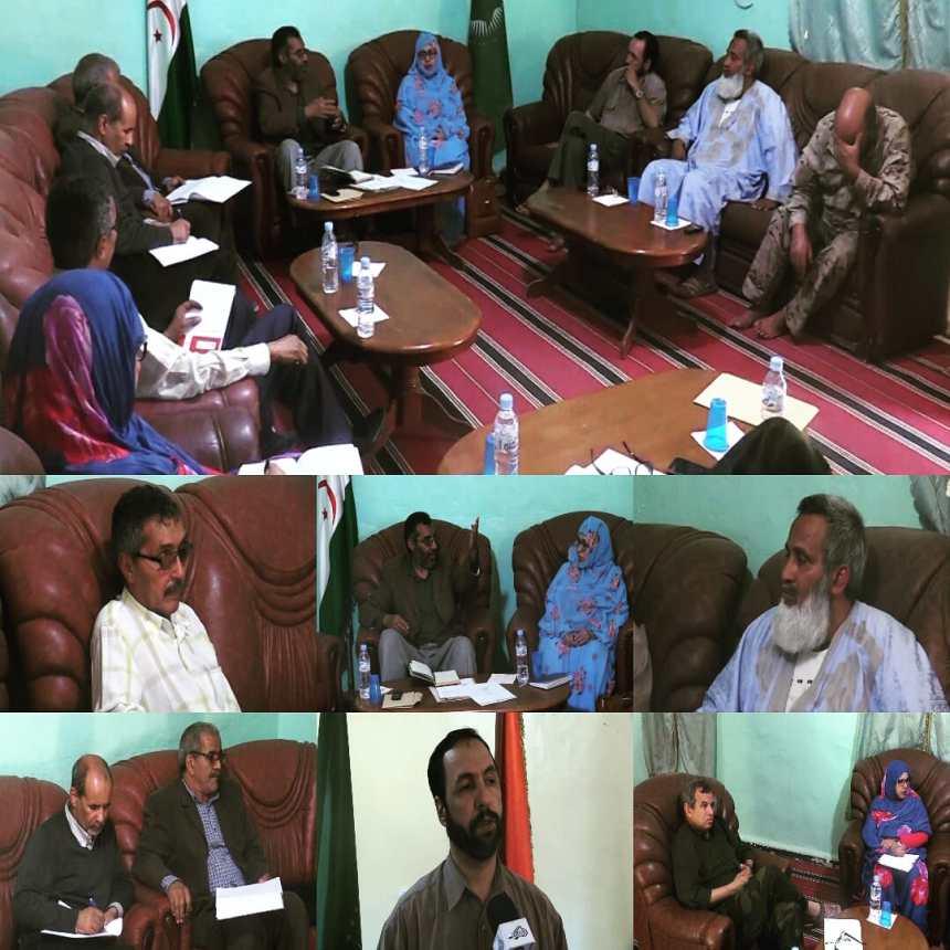 La Comisión Nacional para la prevención del coronavirus observa de cerca la situación y elogia el pleno cumplimiento de las medidas adoptadas | Sahara Press Service