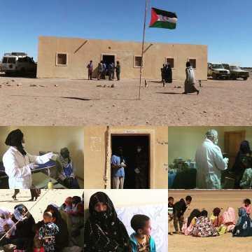 El programa para la Prevención de la COVID 19 llega a los Territorios Liberados saharauis para realizar controles a la población | Sahara Press Service