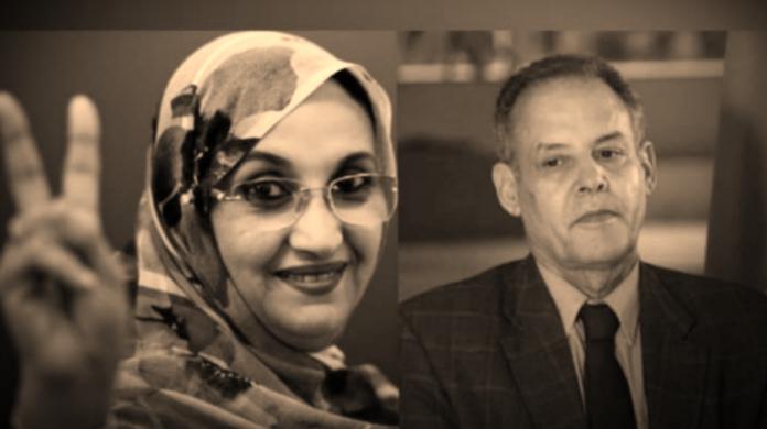 La elegía de la activista Aminetu Haidar al fallecio líder saharaui Mhamed Jadad