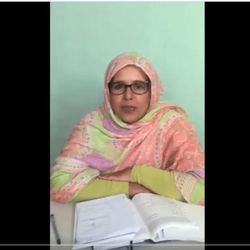 Conversación con Fatma Mehdi –Sàhara Dempeus