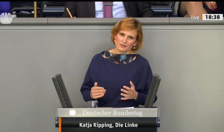 La líder de la izquierda alemana, Katja Kipping (DIE LINKE), sobre el Sáhara Occidental: «Sin el apoyo de Europa, el régimen marroquí no podrá seguir violando los DD.HH en el Sáhara Occidental»
