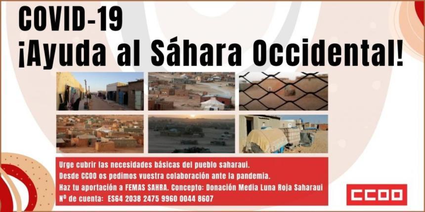 COVID-19 ¡Apoya al Sáhara Occidental! – CSCCOO