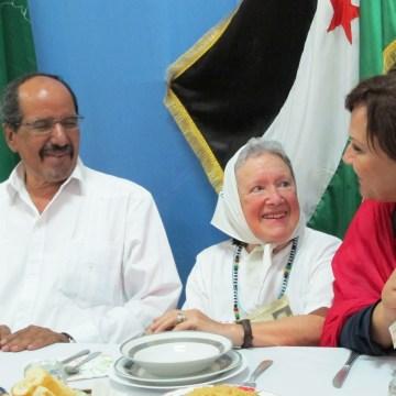 Nora Cortiñas, referente de Madres de Plaza de Mayo, expresa su máxima solidaridad y apoyo al pueblo saharaui   Sahara Press Service (ver fotos)