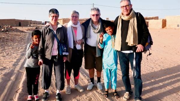 Un camion citerne pour les Sahraouis poursuit ses contacts avec les réfugiés de Laguera – Société – Paris Normandie
