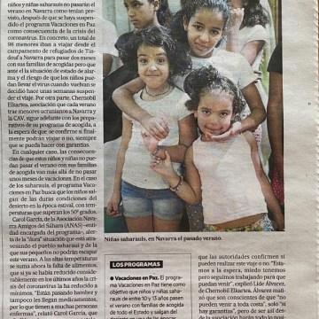 Un centenar de niños y niñas saharauis se quedan sin verano en Navarra por el coronavirus – Noticias de Navarra