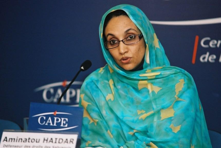 «Las nuevas generaciones apuestan por la independencia y lideran actualmente el levantamiento», Aminetu Haidar
