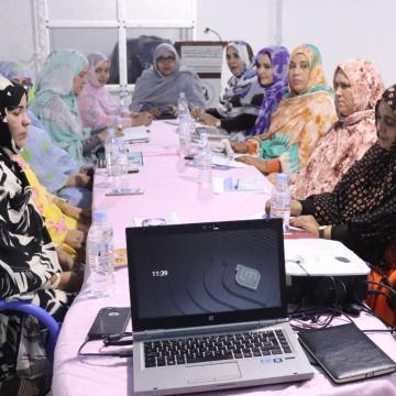 La UNMS elogia las luchas de las mujeres en las Zonas Ocupadas | Sahara Press Service