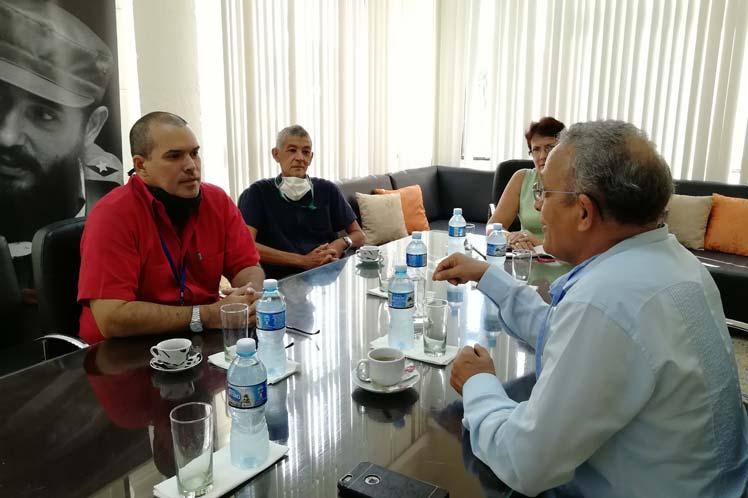 Embajador saharaui en Cuba aboga por ampliar colaboración con Prensa Latina