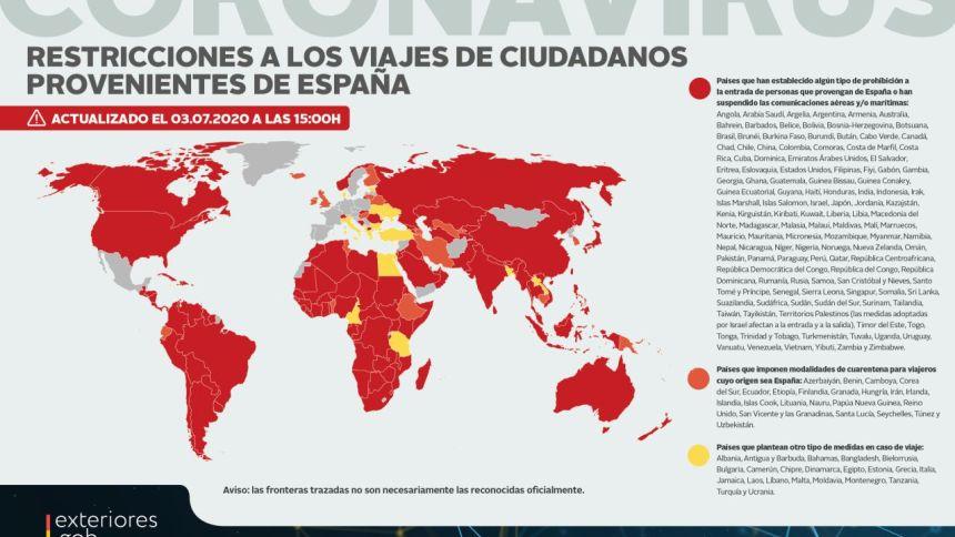 Estos son los países extranjeros a los que se puede viajar desde España – lasexta.com