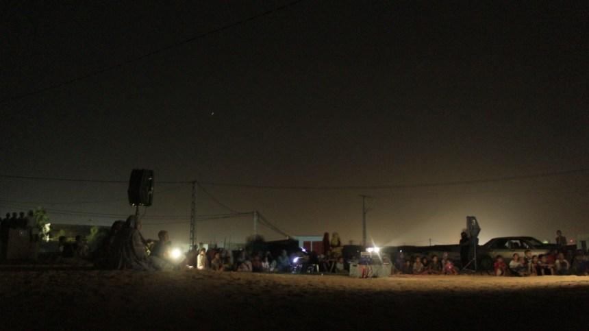 Verano 2020: Programa de cine infantil en la wilaya de Auserd de los Campamentos de refugiados saharauis