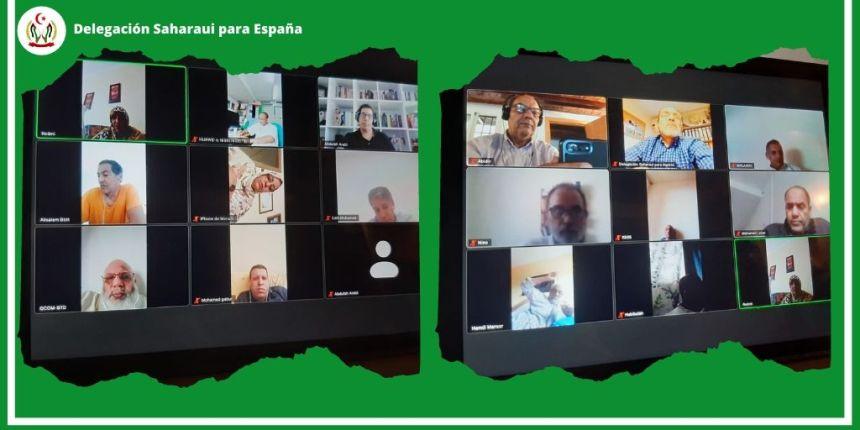 Representación saharaui en España apuesta por un plan de acción acorde a los nuevos retos y desafíos | Sahara Press Service