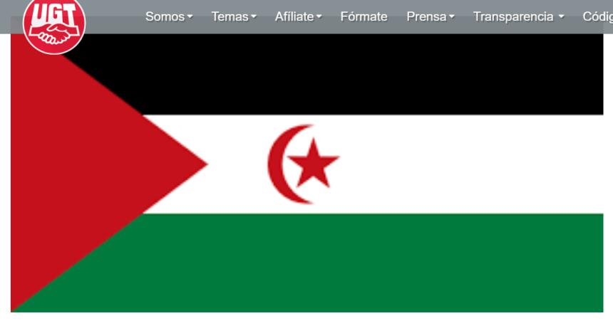 La amenaza del COVID-19 exige el compromiso de España con el Sahara Occidental | UGT